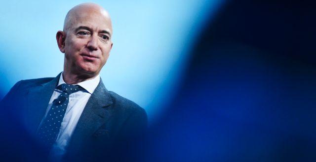 Arkivbild: Jeff Bezos.  MANDEL NGAN / TT NYHETSBYRÅN