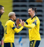 Robin Quaison ersätter Zlatan Ibrahimovic.  ANDREAS L ERIKSSON / BILDBYRÅN