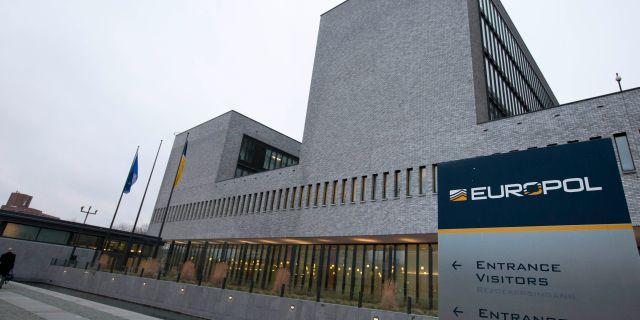 Europols högkvarter i Haag. Peter Dejong / TT NYHETSBYRÅN