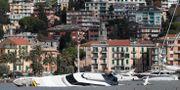 Bild från Rapallo i norra Italien, 30 oktober Antonio Calanni / TT NYHETSBYRÅN/ NTB Scanpix