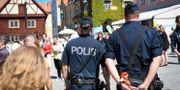 Polis i Almedalen 2017 Henrik Montgomery/TT / TT NYHETSBYRÅN