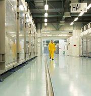 Bild inifrån anläggningen Fordow.  HO / Atomic Energy Organization of Ir