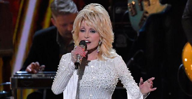 Dolly Parton.  Mark J. Terrill / TT NYHETSBYRÅN