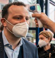 Den tyske hälsoministern Jens Spahn. Arkivbild. Michael Kappeler / TT NYHETSBYRÅN