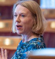 Anniken Huitfeldt.  Terje Pedersen / TT NYHETSBYRÅN