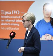 Ivos generaldirektör Sofia Wallström. Arkivbild. Ali Lorestani/TT / TT NYHETSBYRÅN