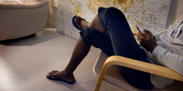 Arkivbild, flyktingboende för ensamkommande. Jessica Gow/TT / TT NYHETSBYRÅN