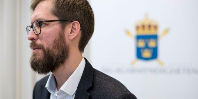 Jonas Martinsson. Arkivbild. Björn Larsson Rosvall / TT / TT NYHETSBYRÅN