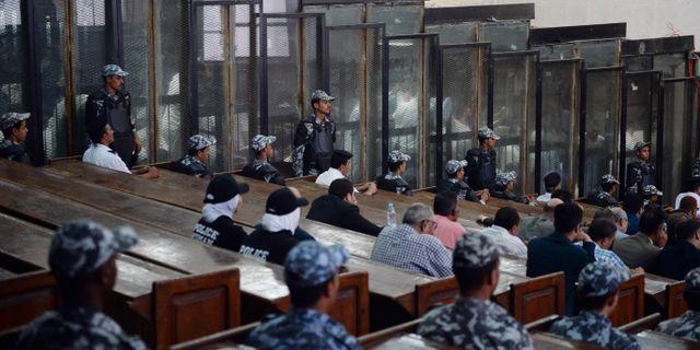 Domstolen i Egypten. MOHAMED EL-SHAHED / AFP