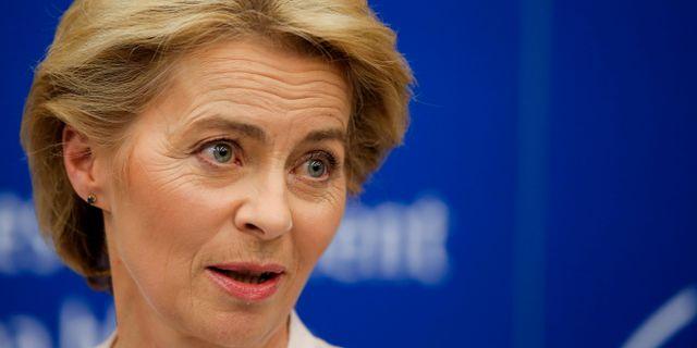 EU:s nya kommissionsordförande Ursula von der Leyen.  Vincent Kessler / TT NYHETSBYRÅN