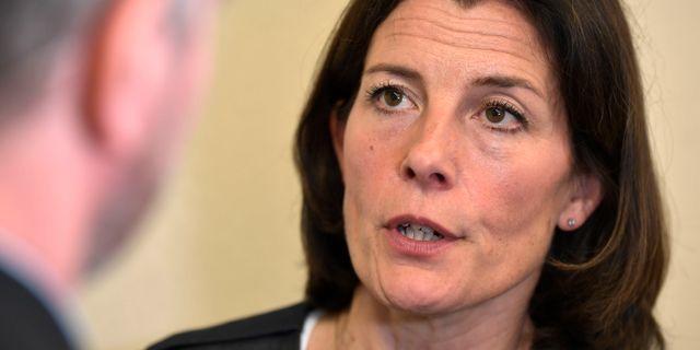 Karin Enström (M), ordförande KU.  Pontus Lundahl/TT / TT NYHETSBYRÅN