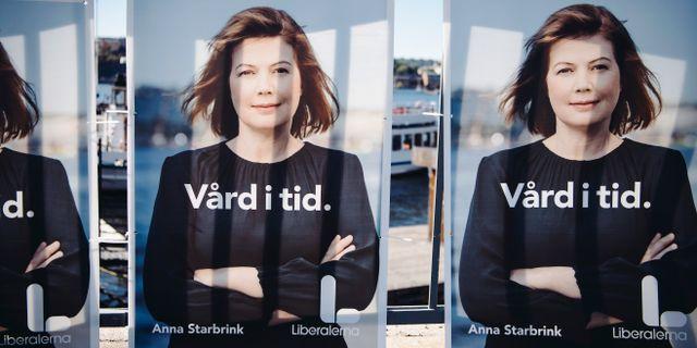 Anna Starbrink.  Erik Simander/TT / TT NYHETSBYRÅN