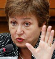 IMF:s chef Kristalina Georgieva. Arkivbild. Remo Casilli / TT NYHETSBYRÅN
