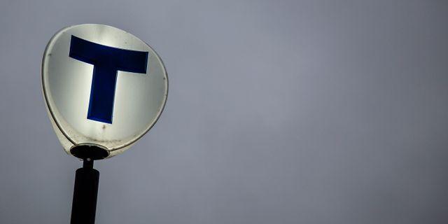 Tunnelbanan. Helena Landstedt/TT / TT NYHETSBYRÅN