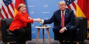 Arkivbild: Tysklands förbundskansler Angela Merkel och USA:s president Donald Trump. Pablo Martinez Monsivais / TT NYHETSBYRÅN
