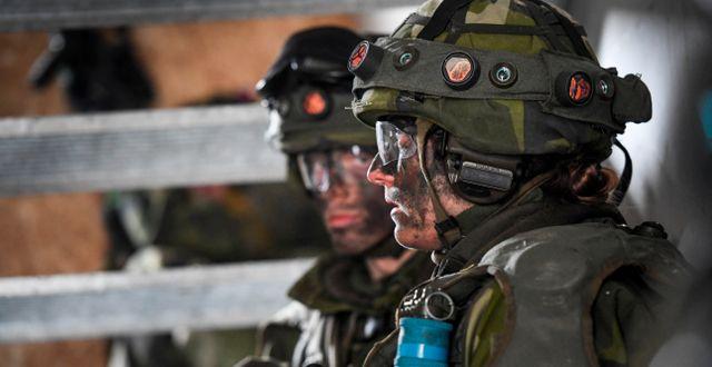 Svenska soldater. Arkivbild. Pontus Lundahl/TT / TT NYHETSBYRÅN