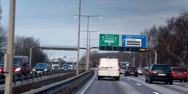 Arkivbild. E6 förbi Göteborg BJÖRN LARSSON ROSVALL / TT / TT NYHETSBYRÅN