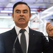 Carlos Ghosn. LUDOVIC MARIN / AFP