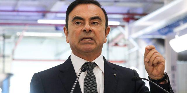 Carlos Ghosn. LUDOVIC MARIN / AFP