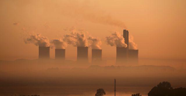 Kolkraftverk.  Siphiwe Sibeko / TT NYHETSBYRÅN