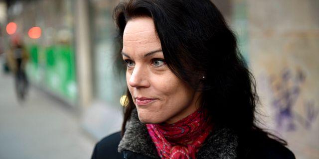 Veronica Palm.  Vilhelm Stokstad / TT / TT NYHETSBYRÅN