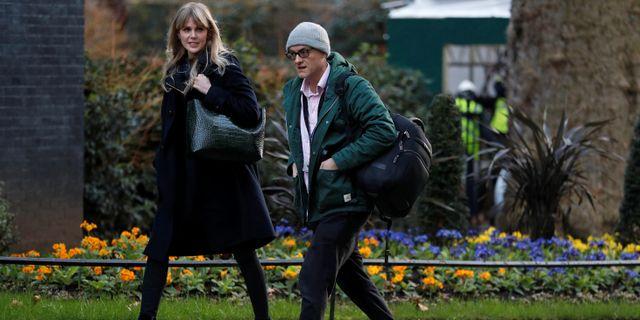 Boris Johnsons högra hand Dominic Cummings. PETER NICHOLLS / TT NYHETSBYRÅN