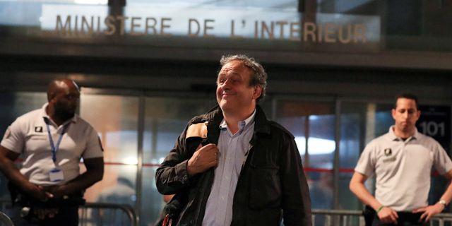Michel Platini. GONZALO FUENTES / TT NYHETSBYRÅN
