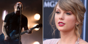 Trent Reznor och Taylor Swift TT