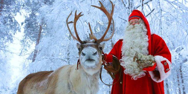Tomten tar emot jobbansökningar. Santa Claus Village / Santa Claus Reinder Resort