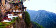Klostret Tigernästet är Bhutans populäraste sevärdhet. Istock