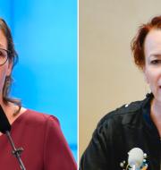 Maria Malmer Stenergard och Christina Höj Larsen TT