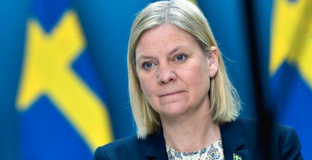 Finansminister Magdalena Andersson. Pontus Lundahl/TT / TT NYHETSBYRÅN