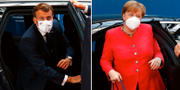 Emmanuel Macron/Angela Merkel. TT