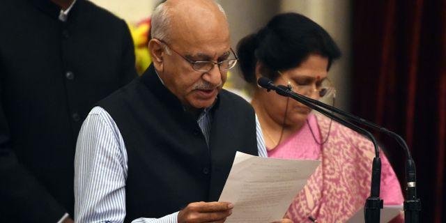 M J Akbar PRAKASH SINGH / AFP