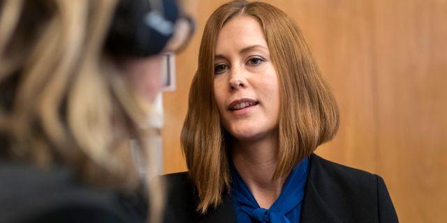 Emmyly Bönfors (C). Thomas Johansson / TT NYHETSBYRÅN