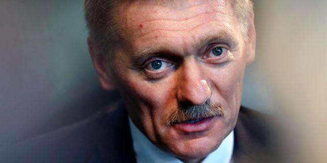 Kremls talesmann Dimitri Peskov. Seth Wenig / TT / NTB Scanpix