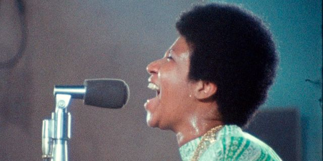 "Aretha Franklin i ""Amazing grace"". TT NYHETSBYRÅN/ NTB Scanpix"