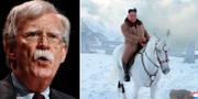 John Bolton/Nordkoreas diktator Kim Jong-Un. TT