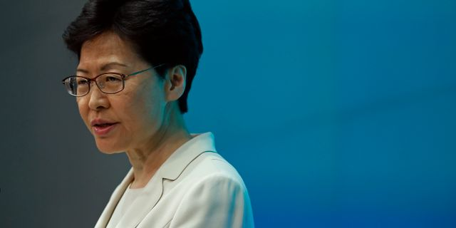 Carrie Lam Vincent Yu / TT NYHETSBYRÅN