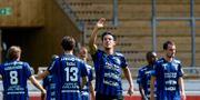 Sirius Stefano Vecchi gjorde 4–1 på straff. Stina Stjernkvist/TT / TT NYHETSBYRÅN