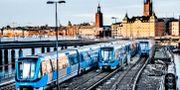 Tunnelbana i Stockholm.  Tomas Oneborg/SvD/TT / TT NYHETSBYRÅN
