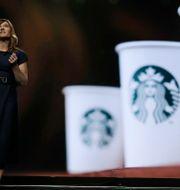 Starbucks näst högsta chef Michelle Burns. Ted S. Warren / TT NYHETSBYRÅN/ NTB Scanpix