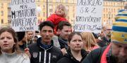 Manifestation för ensamkommande flyktingbarn och unga i Stockholm, 2018. Anna Karolina Eriksson/TT / TT NYHETSBYRÅN
