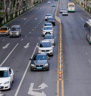 Vy över en väg i Wuhan efter att den elva veckor långa karantänen lyftes förra veckan.  ALY SONG / TT NYHETSBYRÅN