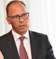 Arkivbild: Nordeas vd Frank Vang-Jensen.  Jonas Ekströmer/TT / TT NYHETSBYRÅN