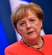 Angela Merkel John Thys / TT NYHETSBYRÅN
