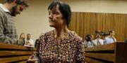 Britta Nielsen under en rättegång i november 2018. Themba Hadebe / TT NYHETSBYRÅN