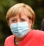 Angela Merkel. Martin Meissner / TT NYHETSBYRÅN
