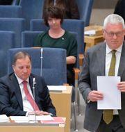 Centerpartiets tillfällige partiledare Anders W Jonsson (C) Jessica Gow/TT / TT NYHETSBYRÅN