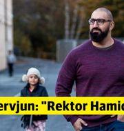 Hamid Zafar, barn- och utbildningschef i Mullsjö. Foto: Thron Ullberg